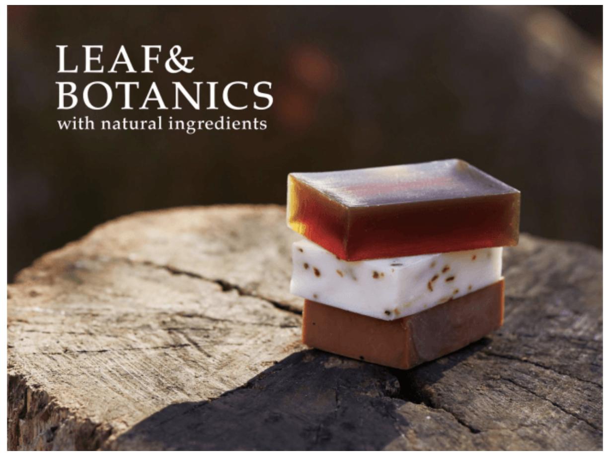 ADDress 家具、アメニティ提供パートナー LEAF&BOTANICS(松山油脂株式会社)